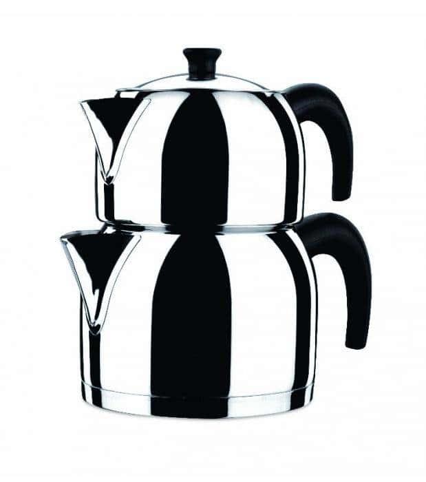 Чайная пара из нержавеющей стали, Orbit Maxi Tea