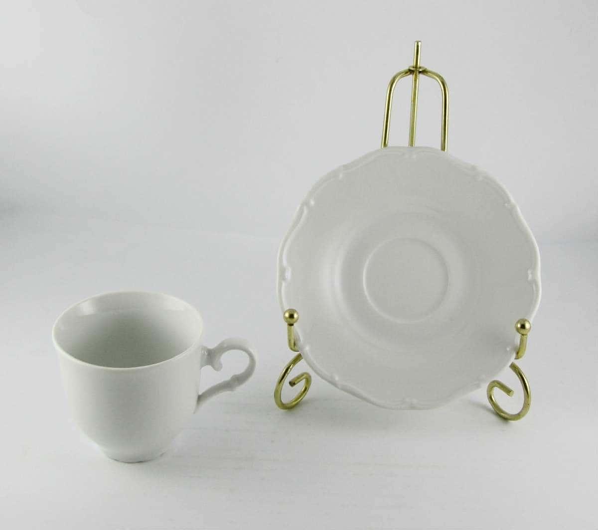 Кофейная чашка с блюдцем 140мл на 1 персону Офелия