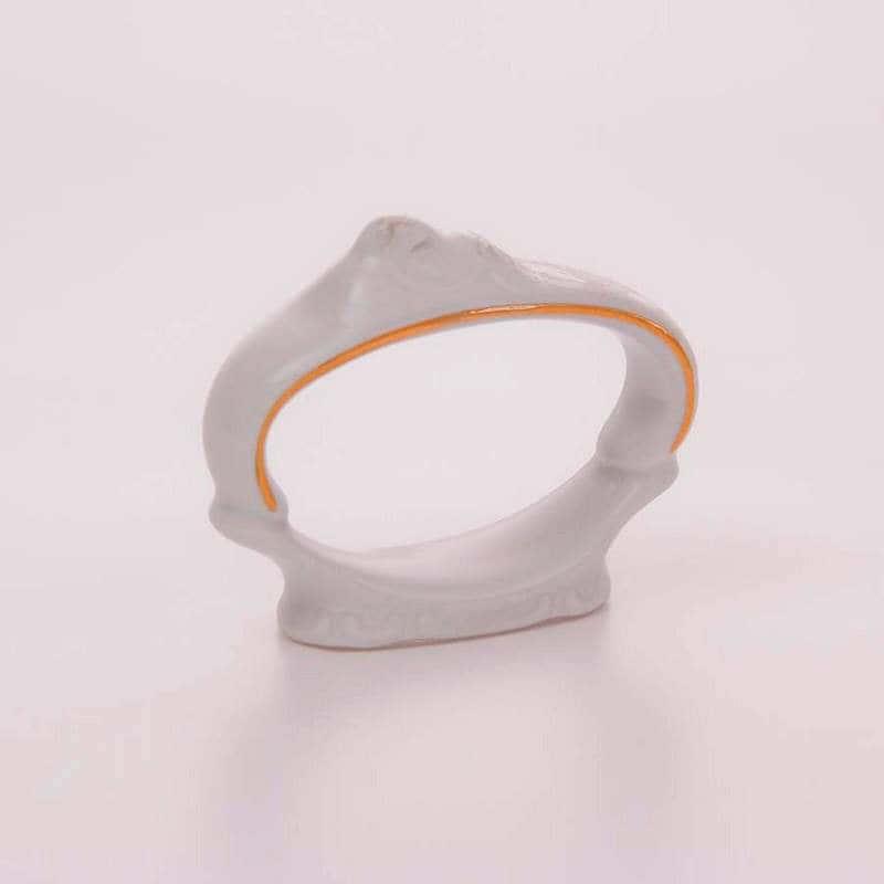Кольцо для салфетки Бернадот белый