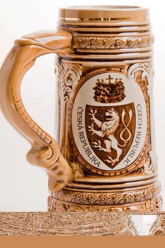 Кружка для пива Прага 0,8 л