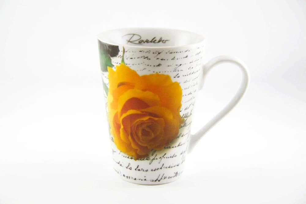 Кружка Кёнитз Жёлтая роза
