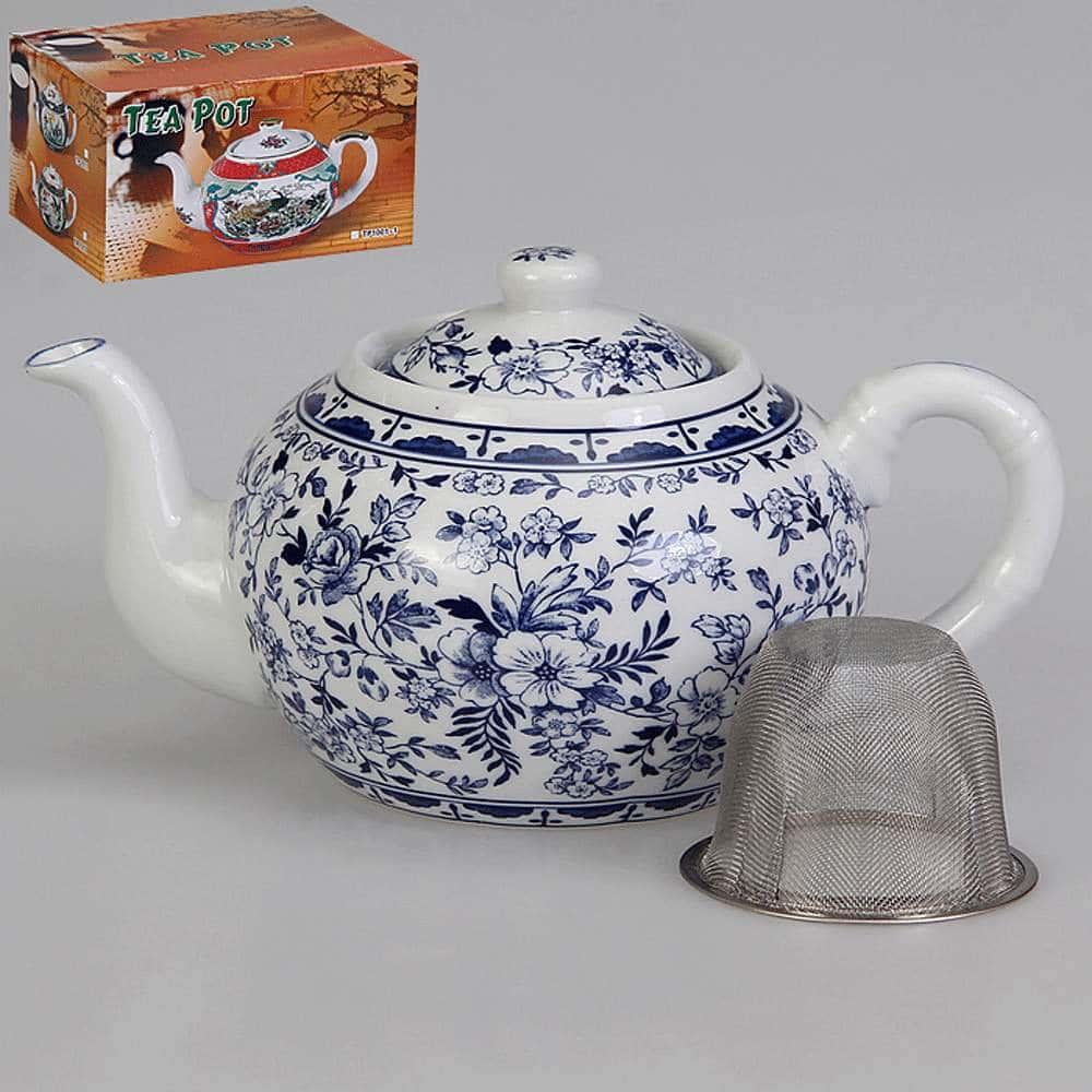 Заварочный чайник Флер с металлическим фильтром 1 л