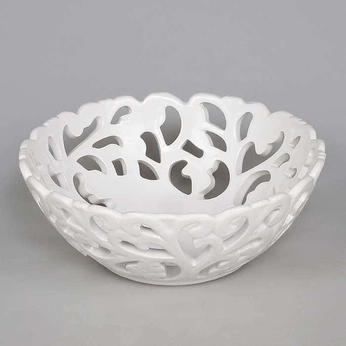 Фруктовница из керамики 24 см