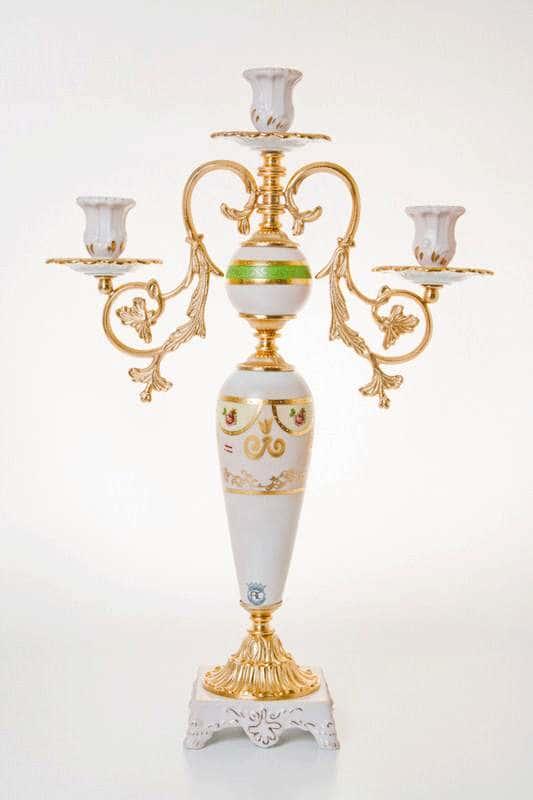 Подсвечник Artigianato на 3 свечи