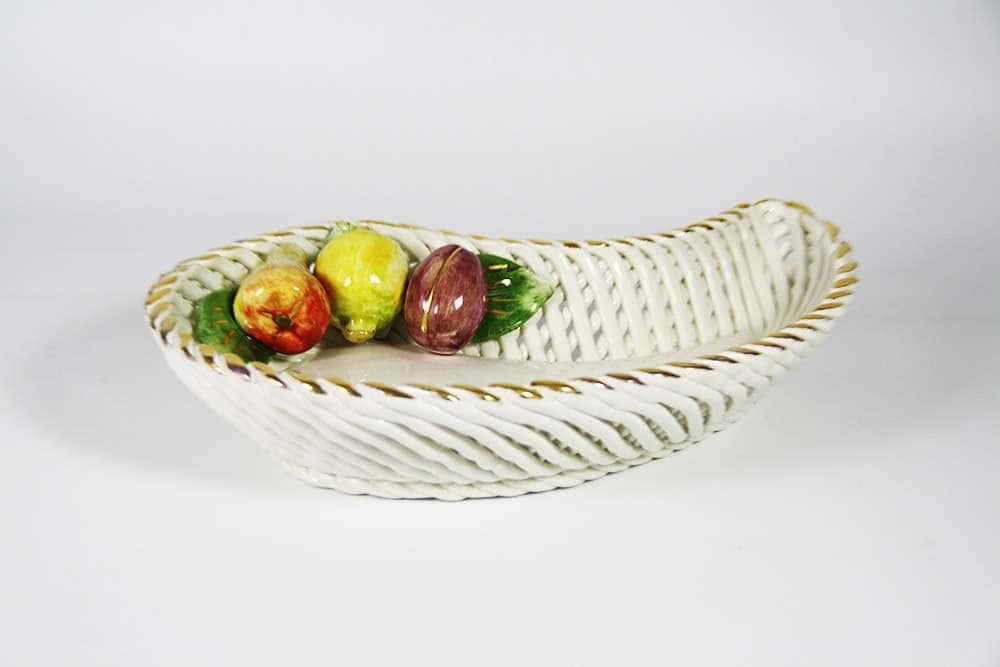 Блюдо для конфет Цветы Lancarin Ceramiche