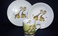 Детский набор 3 предмета Жирафики
