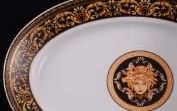 Блюдо для гарнира 22см овальное Сабина Версаче