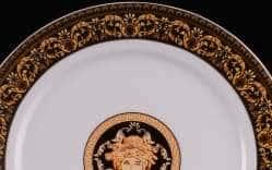 Блюдо круглое мелкое Сабина Версаче 30см