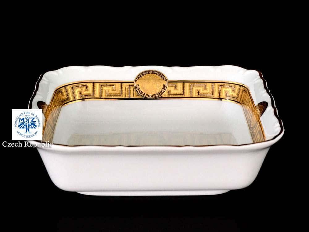 Магнолия Медуза Горгона Versace Салатник квадратный MZ 16 см