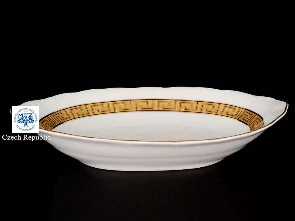 Магнолия Версаче Блюдо для хлеба MZ 36 см