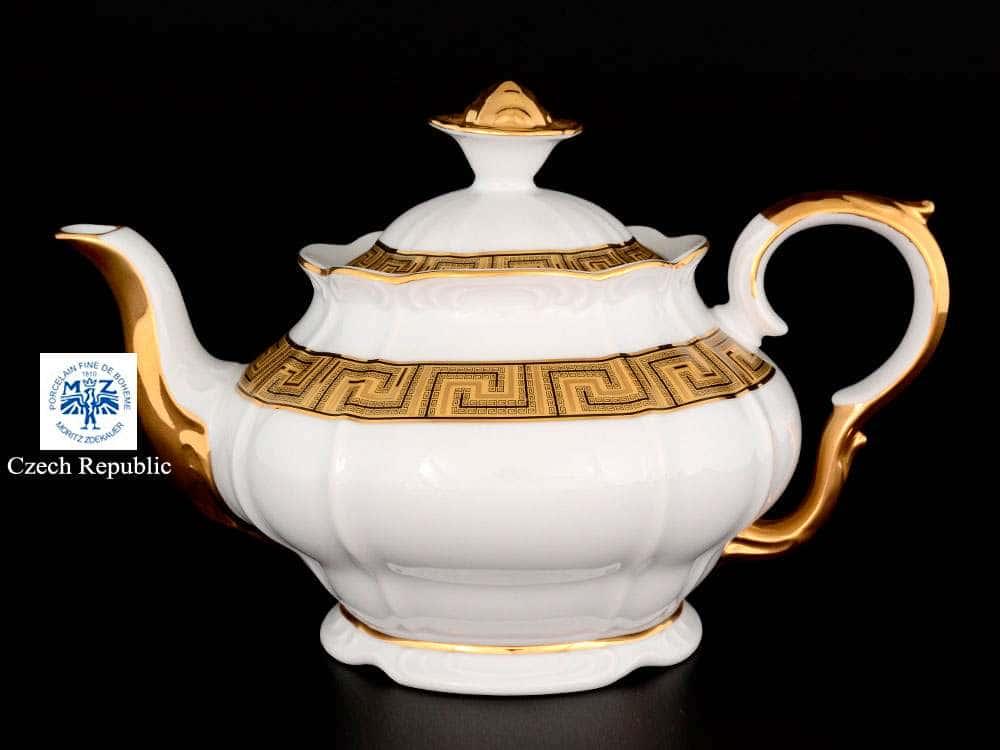 Магнолия Версаче Чайник из фарфора MZ 1,2 л