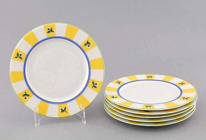 Набор тарелок десертных 17см Сабина Мелкие цветы