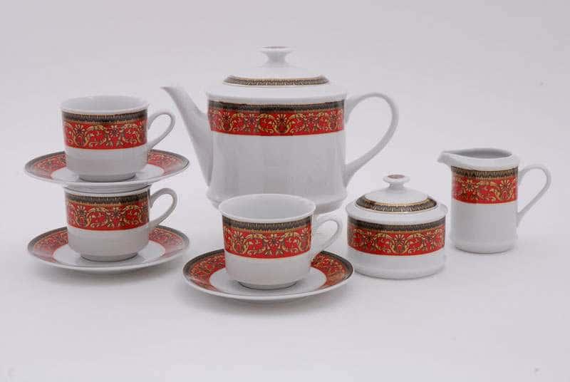 Сервиз чайный 15предм. Сабина Красная лента
