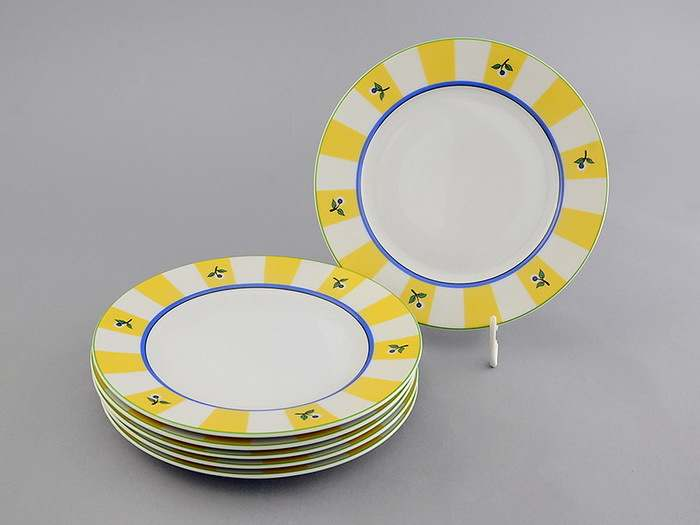 Тарелки десертные 19см Сабина Мелкие цветы