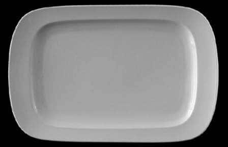 Эргономик Блюдо прямоугольное Леандер 28 см из фарфора