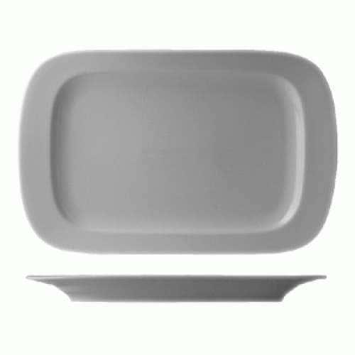 Эргономик блюдо прямоугольное Леандер 32см из фарфора