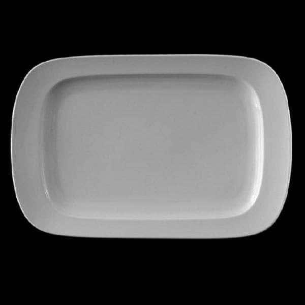 Эргономик Блюдо прямоугольное Леандер 36 см из фарфора