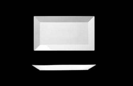 Блюдо прямоугольное 45х26см Фьюжн