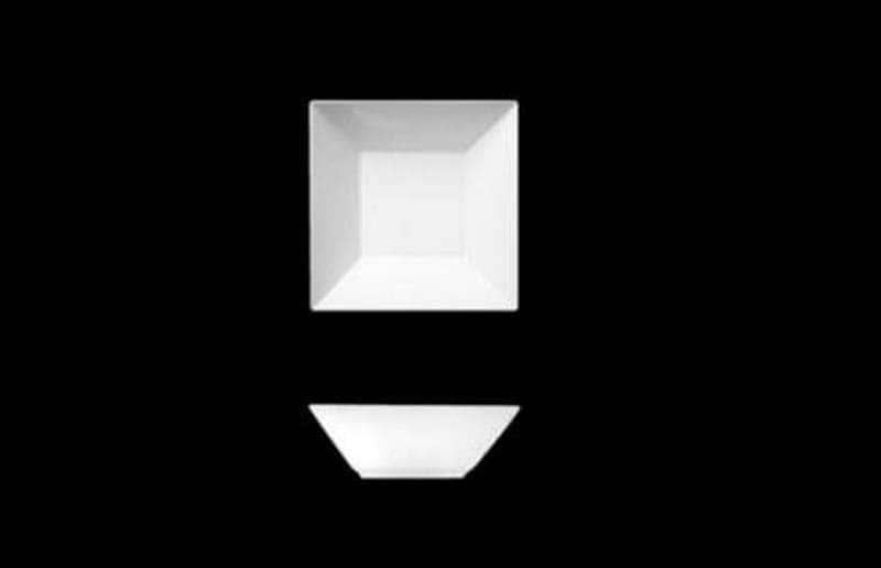 Салатник квадратный Фьюжн 14см