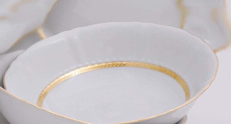 Салатник круглый 13,5см Соната Золотая лента