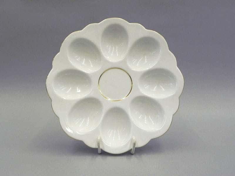 Тарелка для яиц 19,5см Соната Отводка золото