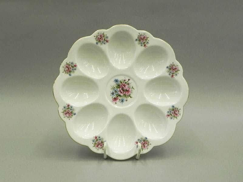 Тарелка для яиц 19,5см Соната Розовые цветы