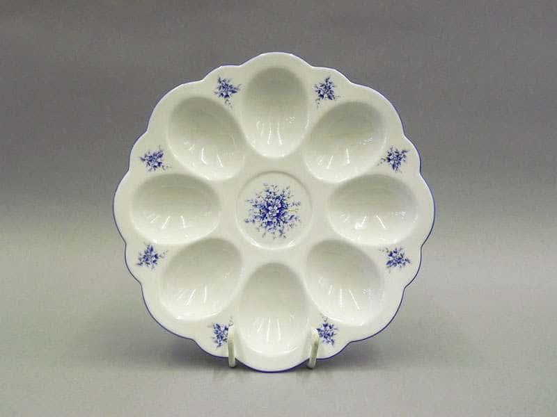 Тарелка для яиц 19,5см Соната Голубые цветы