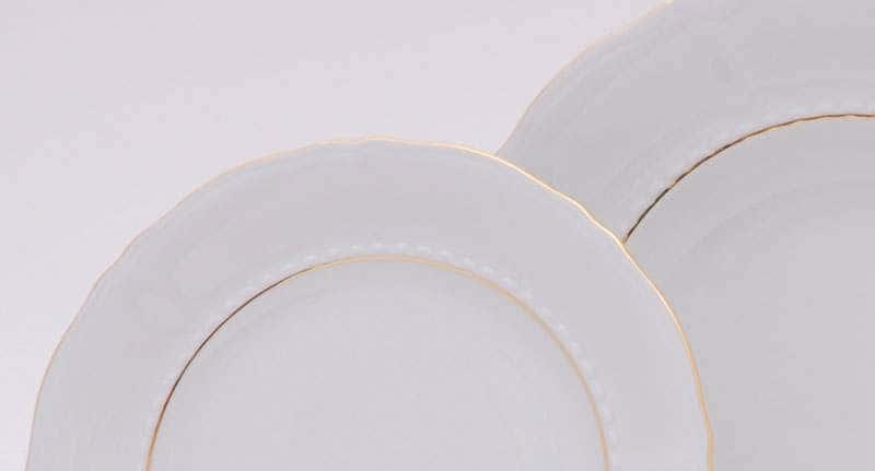 Набор тарелок десертных  6шт. 19см Соната Отводка золото