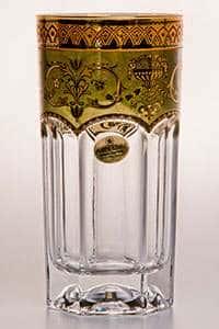 Провенза Империя Набор стаканов для воды Astra Gold на 6 персон 370 мл