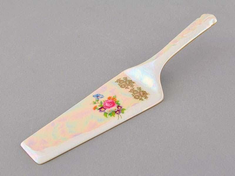 Лопатка для торта Соната Цветы Перламутр