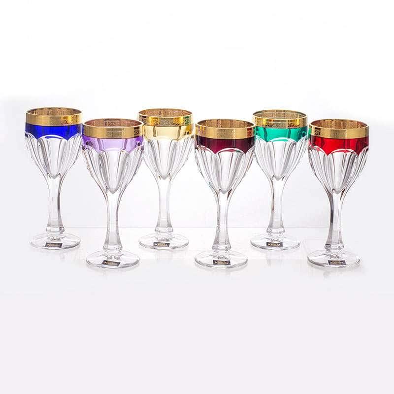 Набор бокалов для вина 190 мл Сафари Колорс