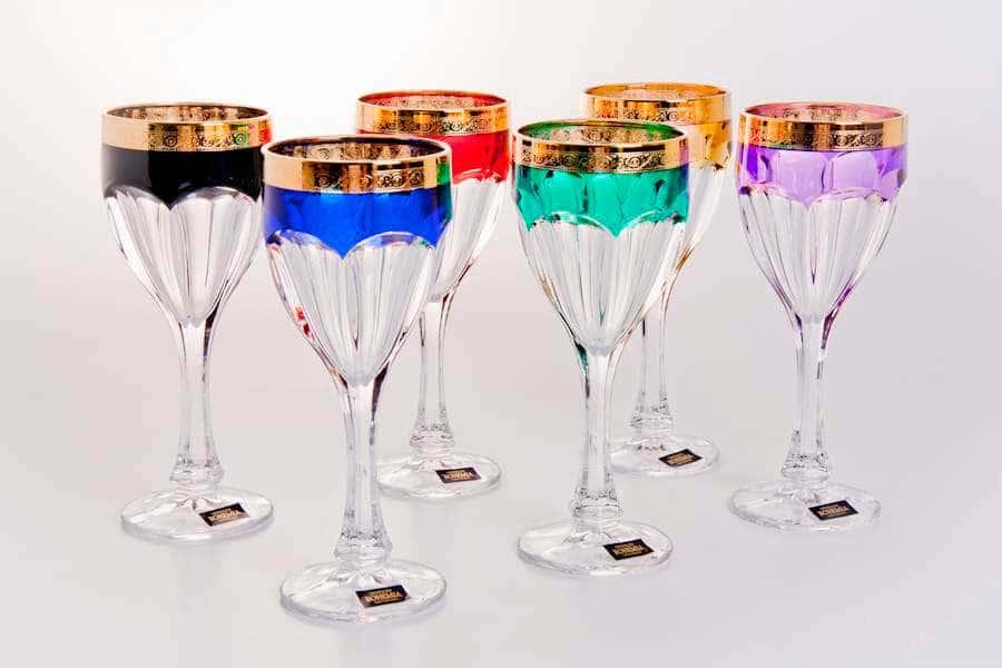 Набор бокалов для вина 290 мл Сафари Колорс