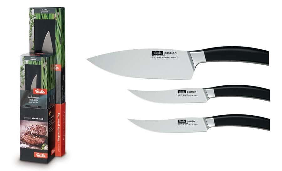 Набор ножей для стейка Fissler, серия Passion, 3пр.