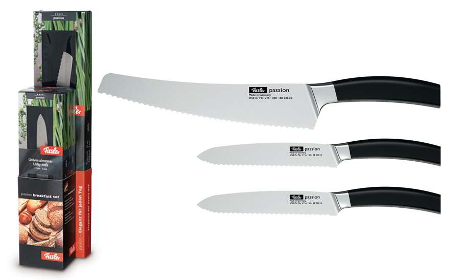 Набор ножей для завтрака, серия Passion, 3пр.