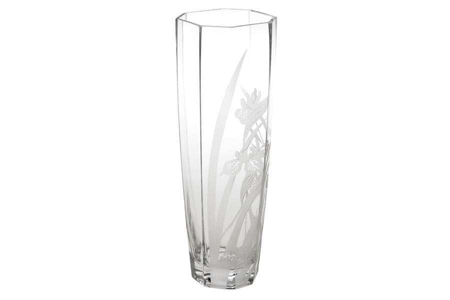Ваза для цветов Ирисы Deco Glass Польша