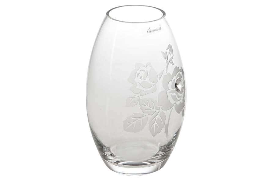 Ваза для цветов Роза Deco glass Польша