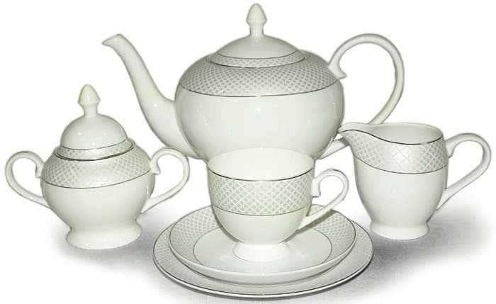 Чайный сервиз Элеганс 21 предмет на 6 персон