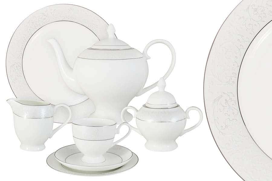 Чайный сервиз 40 предметов на 12 персон  Мелисента
