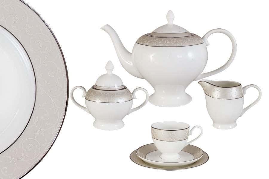 Чайный сервиз 21 предмет на 6 персон Антуанетта