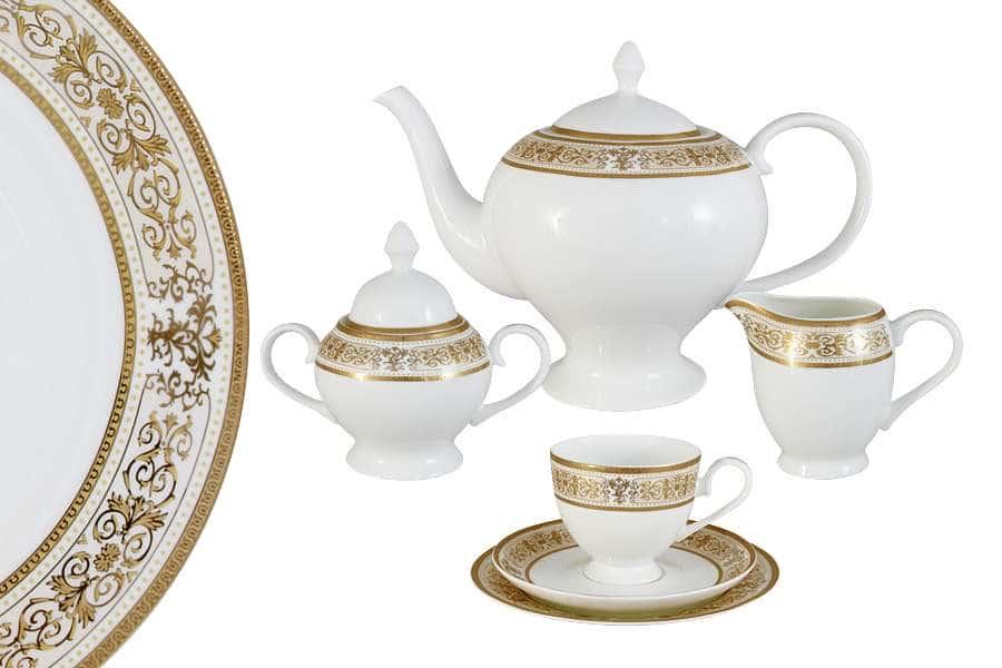 Чайный сервиз 40 предметов на 12 персон Шарлотта