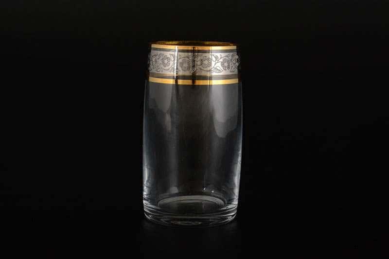 Клаудия Платина Набор стаканов для воды Crystalite 250 мл