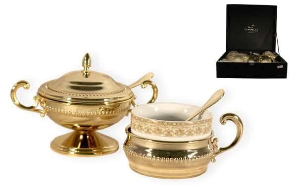 Чайный набор  на 6 персон в подарочной коробке