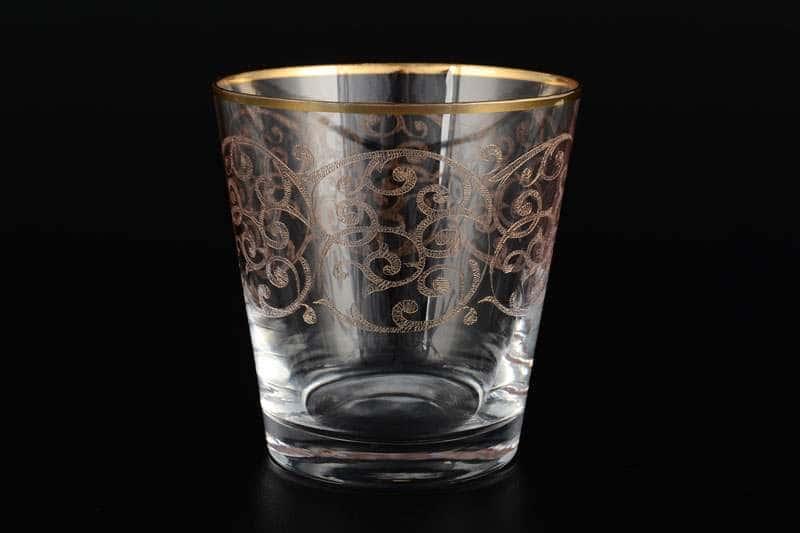 Набор стаканов для виски 330 мл Виктория Bohemia Crystal