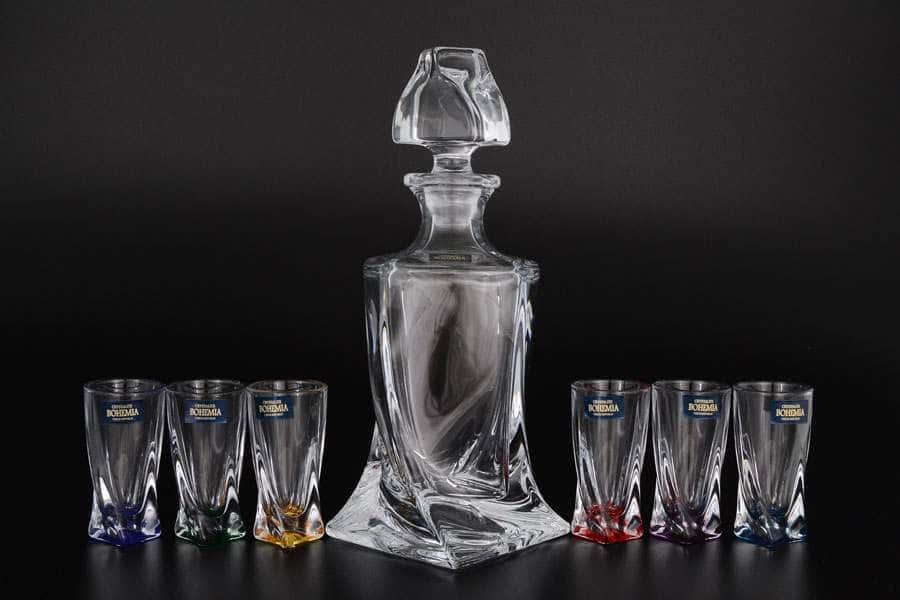 Quadro Набор для ликера Crystalite Bohemia 7 предметов