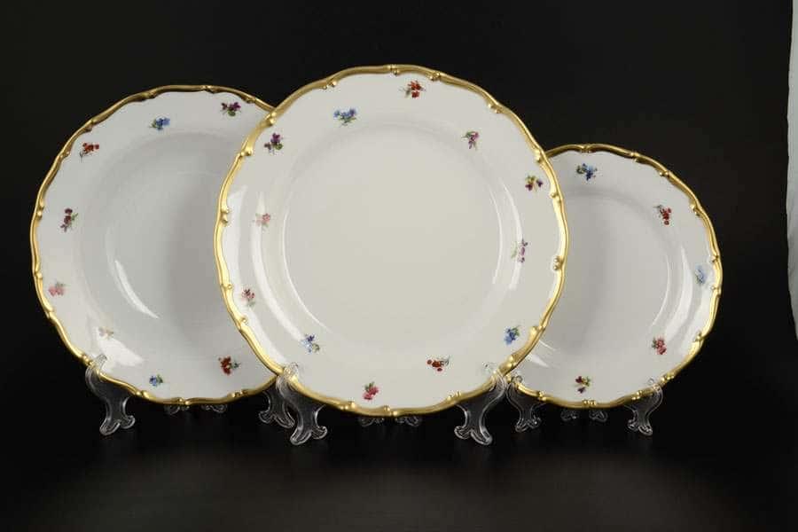 Анжелика Полевые цветы Набор тарелок  MZ 18 предметов