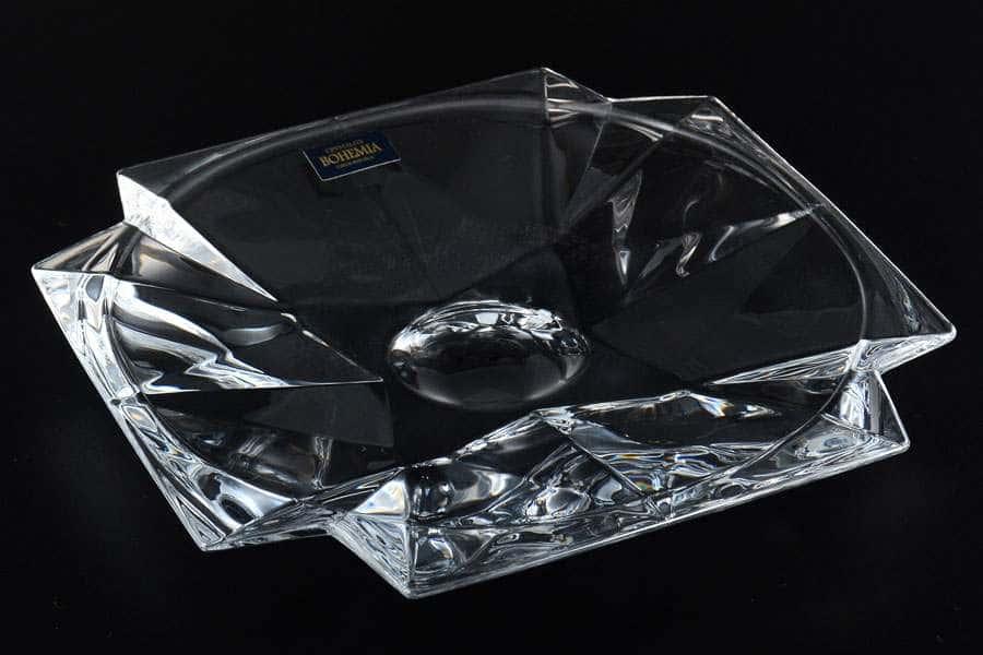 Конфетница 21,5 см METROPOLITAN Crystalite Bohemia 32342