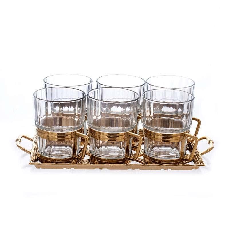 Альберти Ливио Набор для чая с подносом на 6 персон