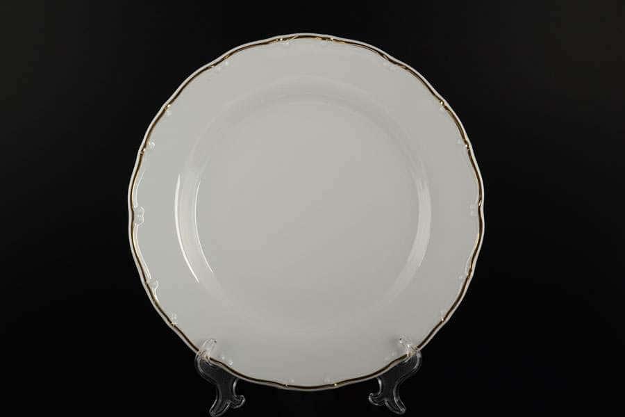 Офелия Отводка золото Набор тарелок MZ 21 см