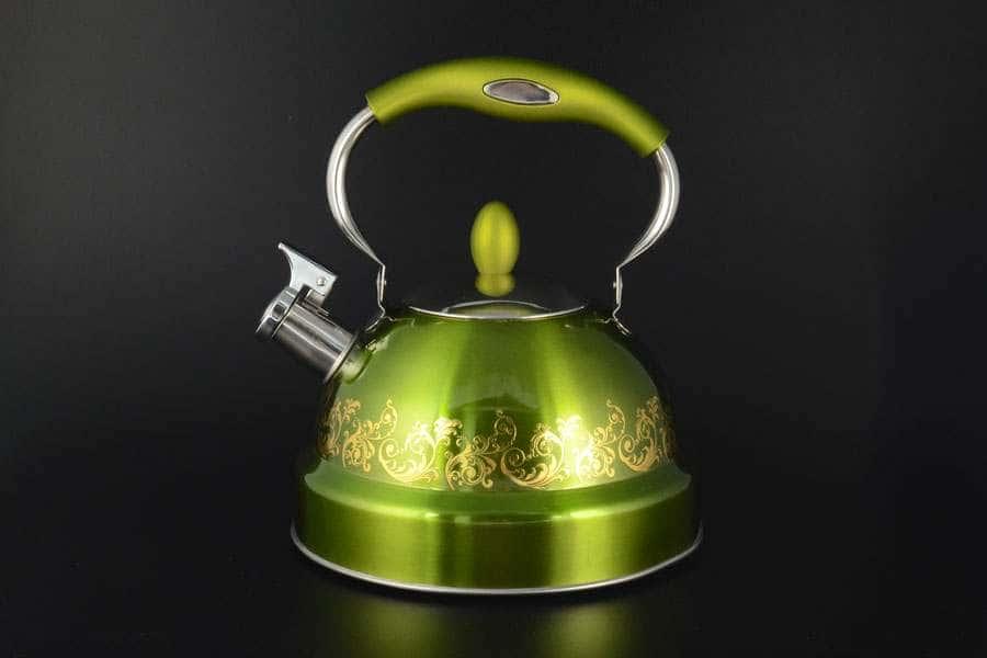 Чайник зеленый из стали Royal Classics 3.5 л