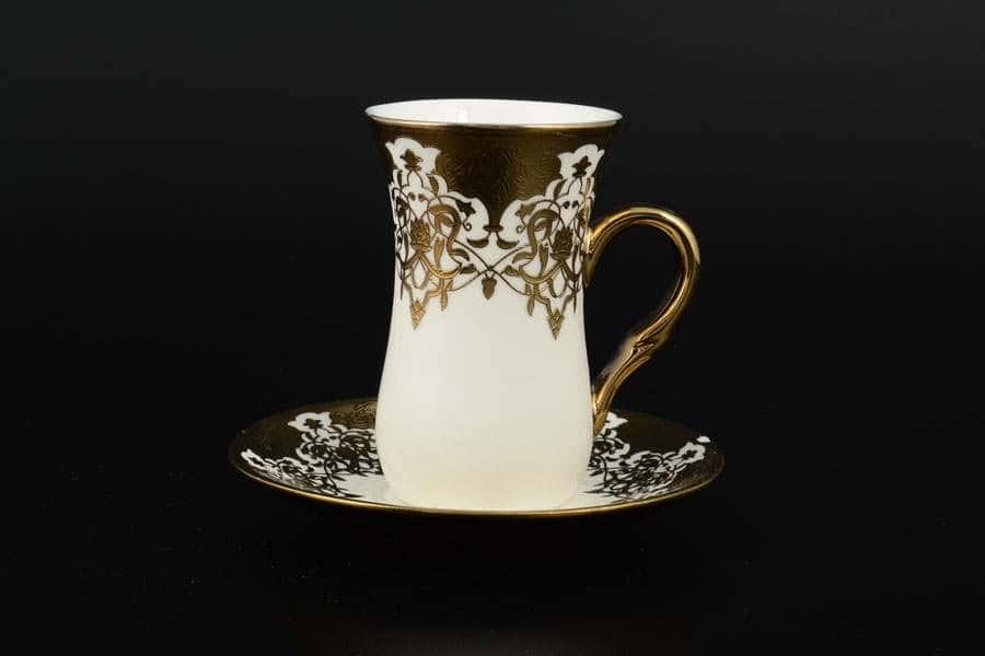 Чайный набор Армуд белый Royal Classics на 6 персон 12 предметов